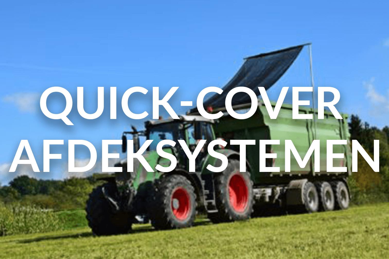 Quick-Cover afdeksystemen