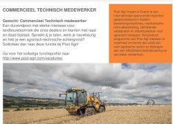 vacature commercieel technisch medewerker