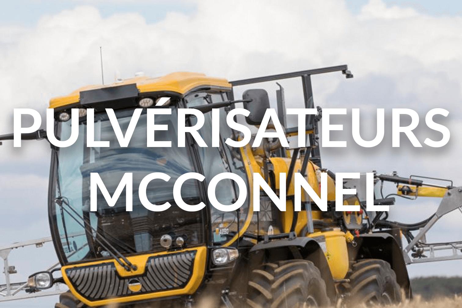 Pulvérisateurs McConnel